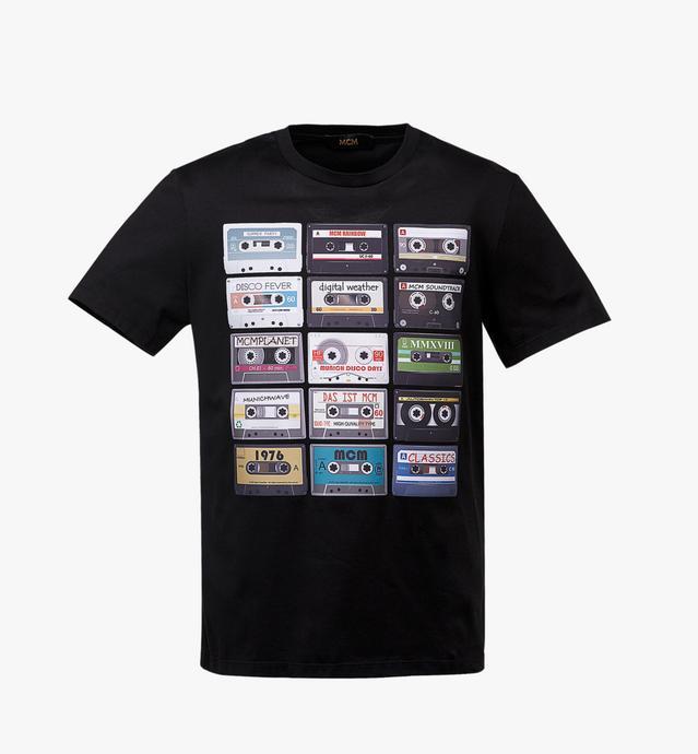 남성용 카세트 티셔츠