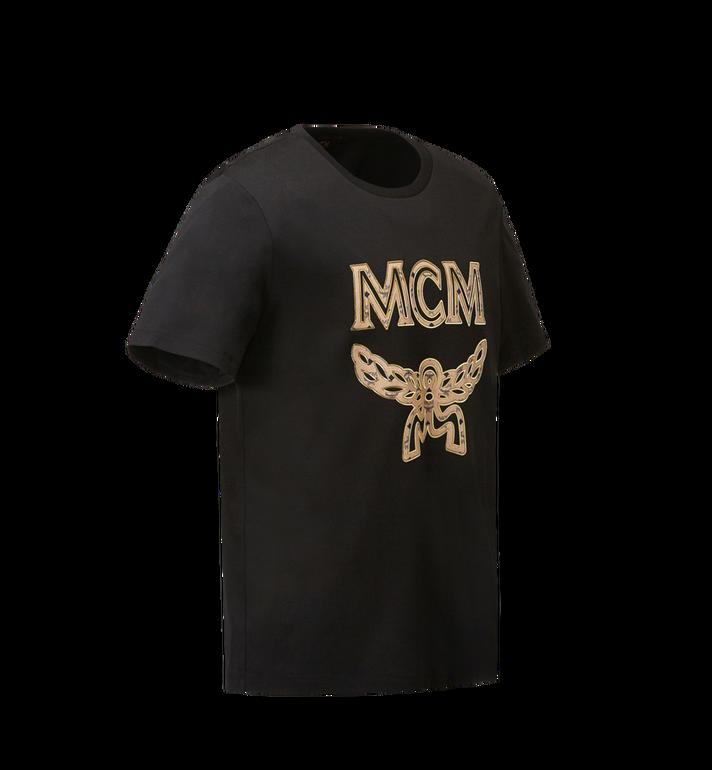 MCM Men's Logo T-Shirt Black MHT8SMM10BK00L Alternate View 2