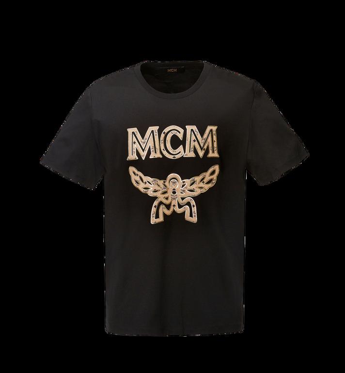 MCM Men's Logo T-Shirt MHT8SMM10BK00M AlternateView
