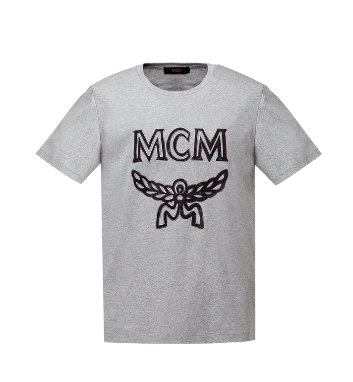 MCM Men's Logo T-Shirt MHT8SMM10EG00L AlternateView