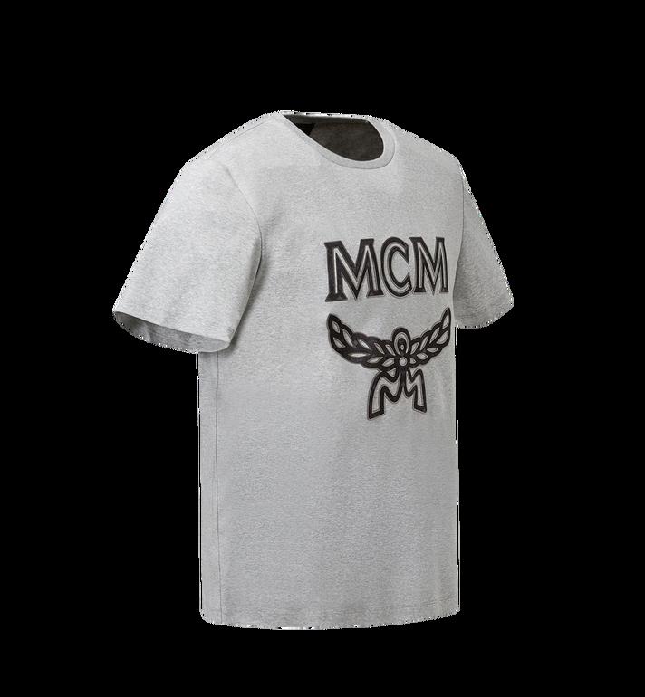 MCM Men's Logo T-Shirt Grey MHT8SMM10EG00M Alternate View 2