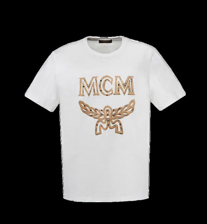 MCM Klassisches Herren T-Shirt mit Logo MHT8SMM10WI00L AlternateView