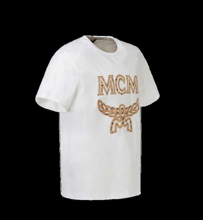 MCM メンズ クラシック ロゴ Tシャツ White MHT8SMM10WI00L Alternate View 2