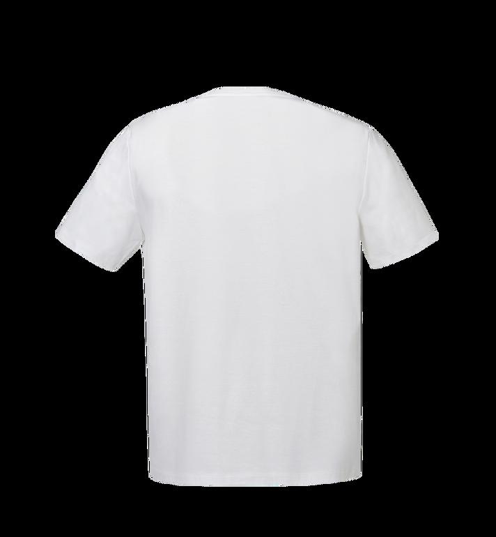 MCM メンズ クラシック ロゴ Tシャツ White MHT8SMM10WI00L Alternate View 3