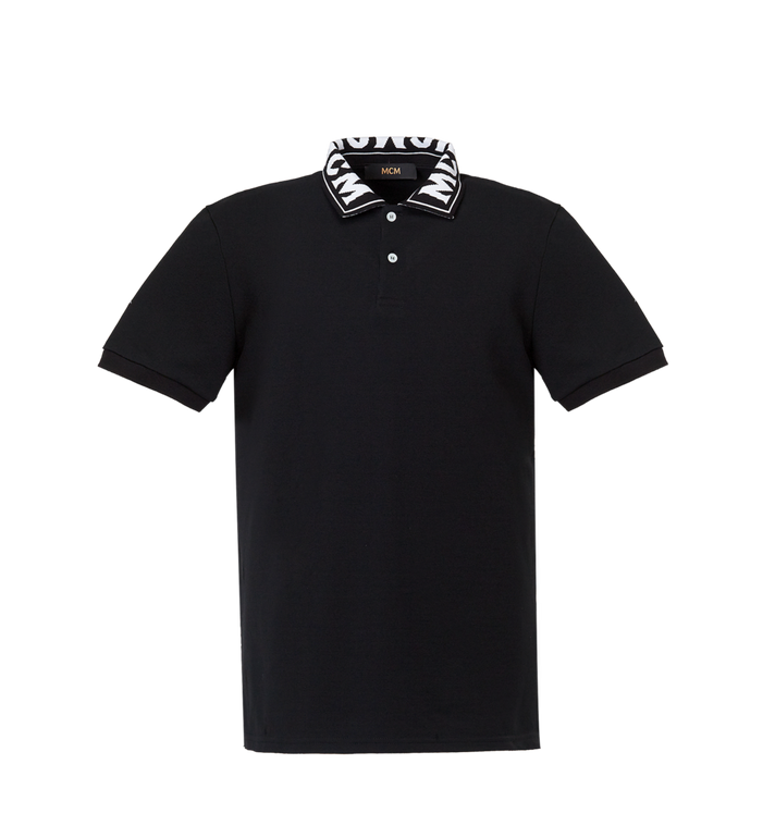 MCM MCM Short Sleeve Polo MHT8SMM25BK00L AlternateView