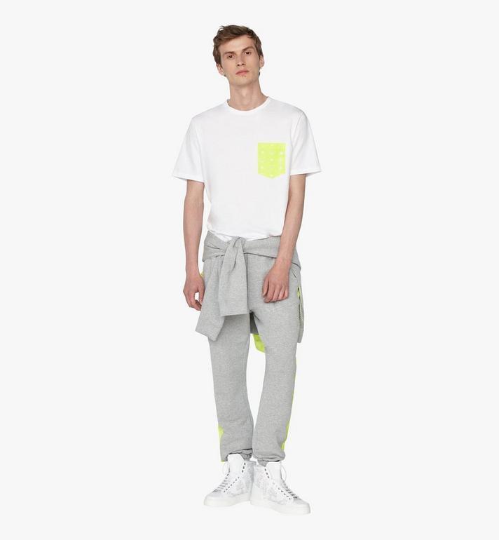 MCM Men's Flo Pocket T-Shirt White MHT9ALC07WTXXL Alternate View 3