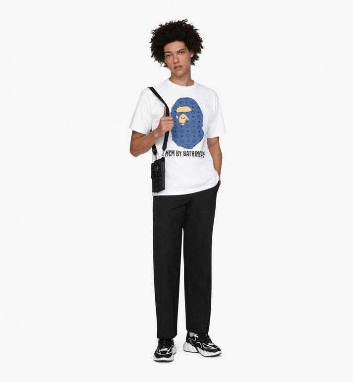 MCM MCM x BAPE Ape Head T-Shirt  MHT9AMB01LU00M Alternate View 3
