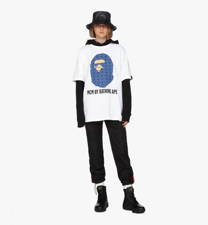 MCM MCM x BAPE Ape Head T-Shirt  MHT9AMB01LU00M Alternate View 4