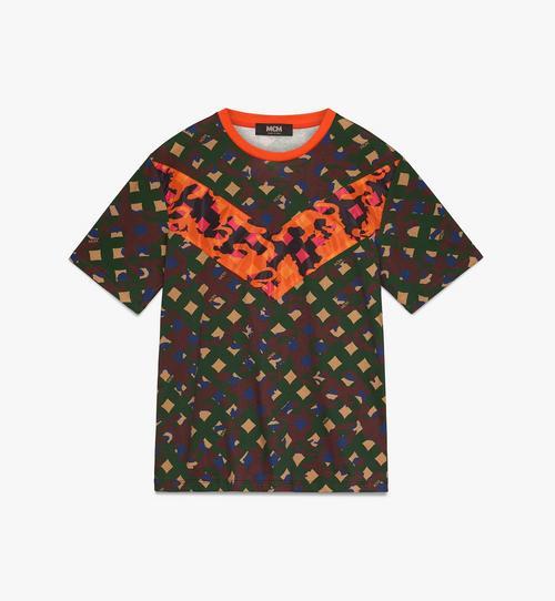 Herren-T-Shirt mit Camouflage-Print