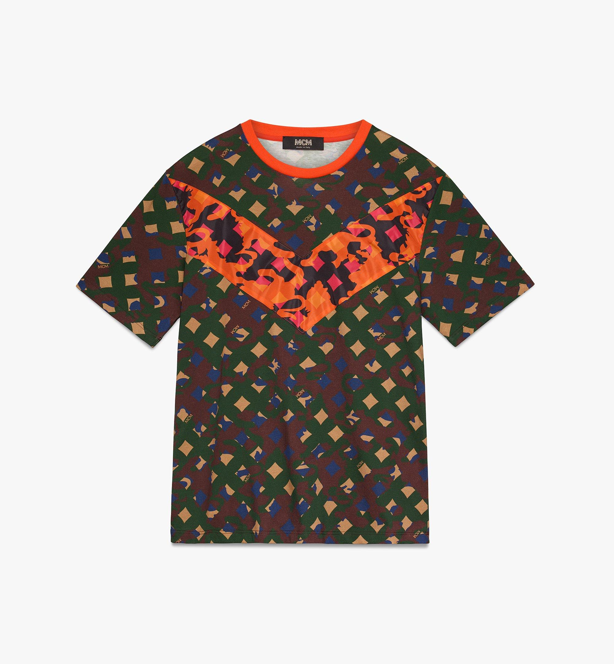 MCM Men's Camo T-Shirt  MHT9AMM12G600L Alternate View 1