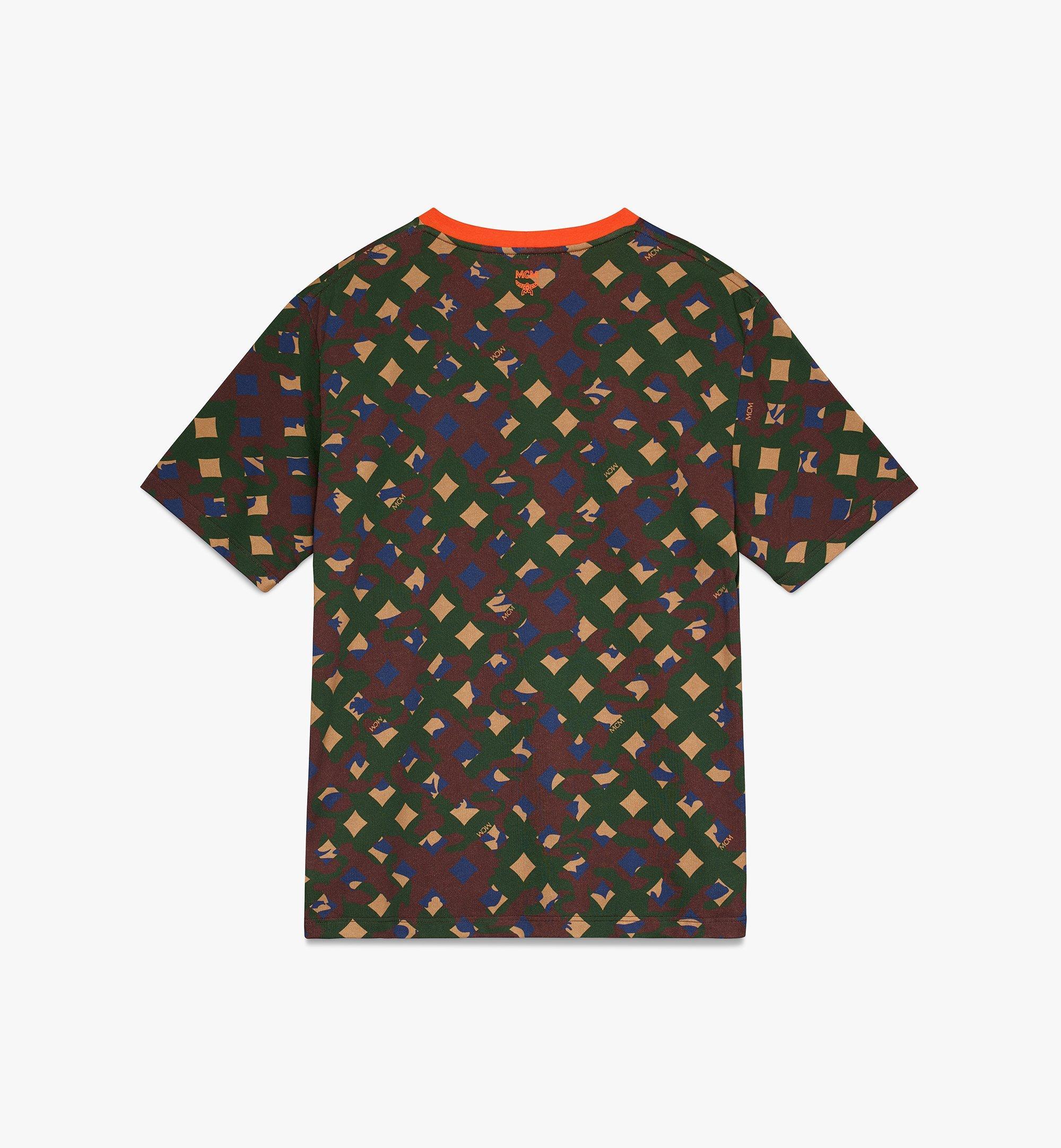 MCM Men's Camo T-Shirt  MHT9AMM12G600L Alternate View 2