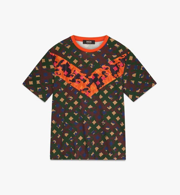 MCM Herren-T-Shirt mit Camouflage-Print Alternate View