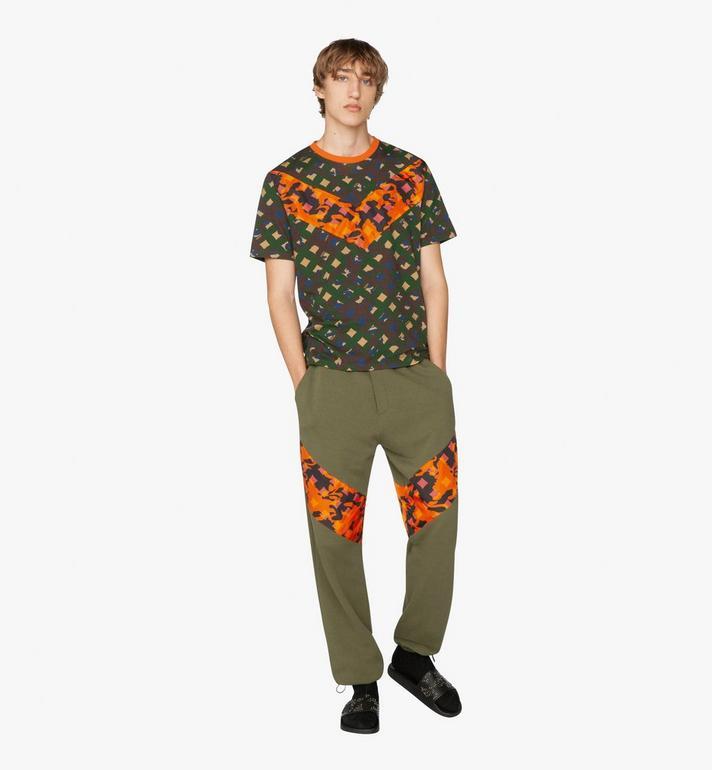 MCM Herren-T-Shirt mit Camouflage-Print  MHT9AMM12G600S Alternate View 3