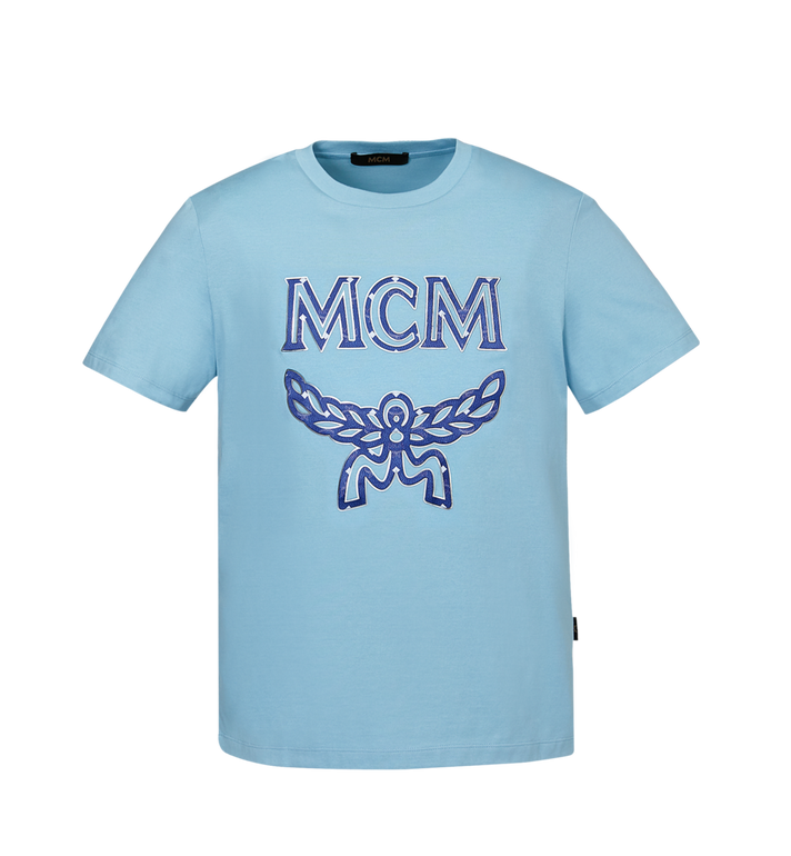 MCM Herren Logo T-Shirt MHT9SMM10LS00L AlternateView