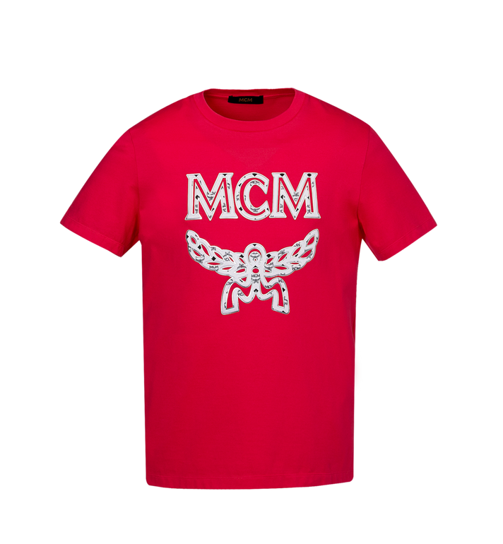 MCM Herren Logo T-Shirt MHT9SMM10UF00L AlternateView