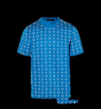 MCM Herren T-Shirt mit Visetos Print Alternate View
