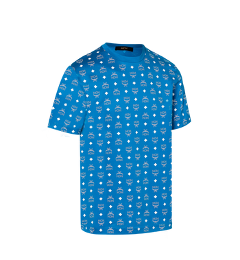 MCM Herren T-Shirt mit Visetos Print Alternate View 2