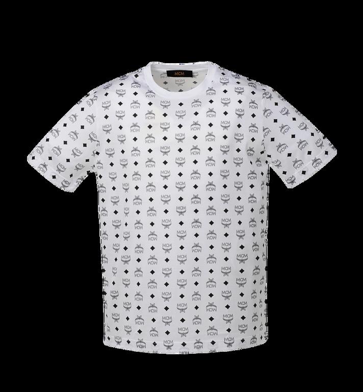 MCM Men's Visetos Print T-Shirt Alternate View