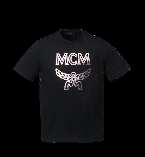 Logo T-Shirt mit Hologramm-Print für Herren