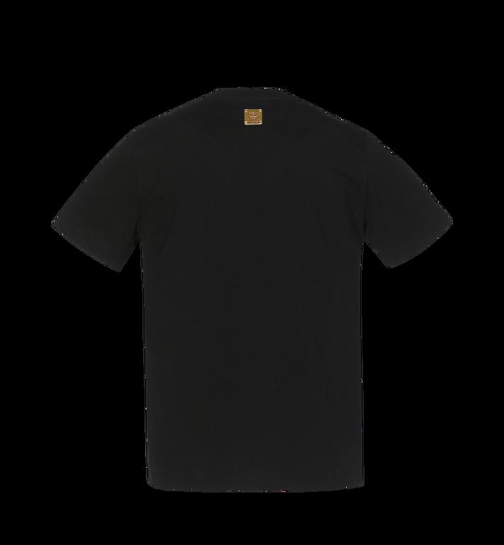 MCM Herren-T-Shirt mit Logo-Streifen-Print Black MHT9SMM77BK00L Alternate View 3