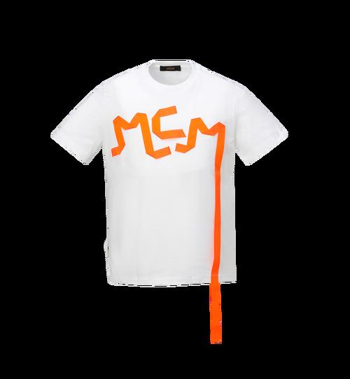 Herren-T-Shirt mit Logo-Streifen-Print