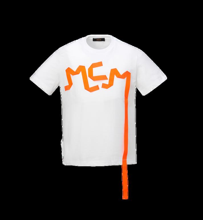 MCM Herren-T-Shirt mit Logo-Streifen-Print Alternate View