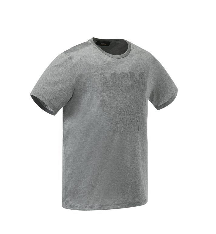 MCM Men's Tone On Tone Logo T-Shirt Grey MHT9SMM80EM00L Alternate View 2