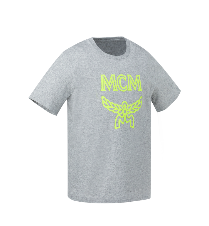 MCM Men's Tonal Logo Print T-Shirt Yellow MHT9SMM80YN00L Alternate View 2