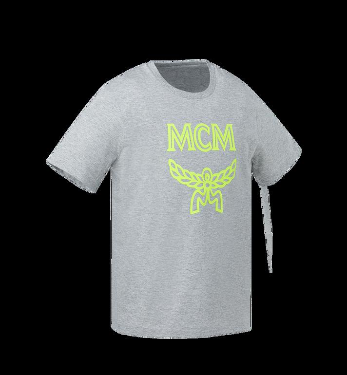 MCM Men's Tonal Logo Print T-Shirt Yellow MHT9SMM80YN0XL Alternate View 2