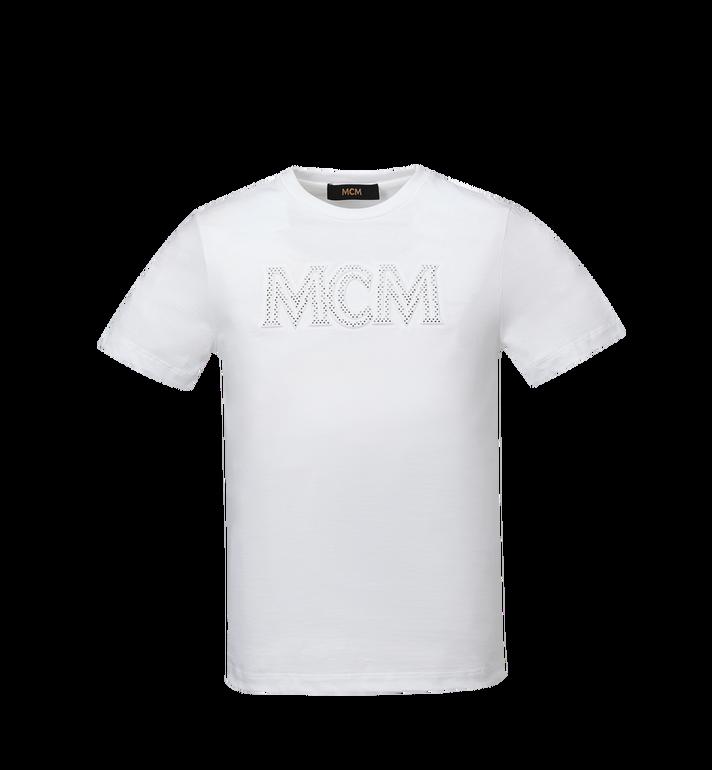 MCM T-shirt à logo Sparkling Neon pour homme Alternate View
