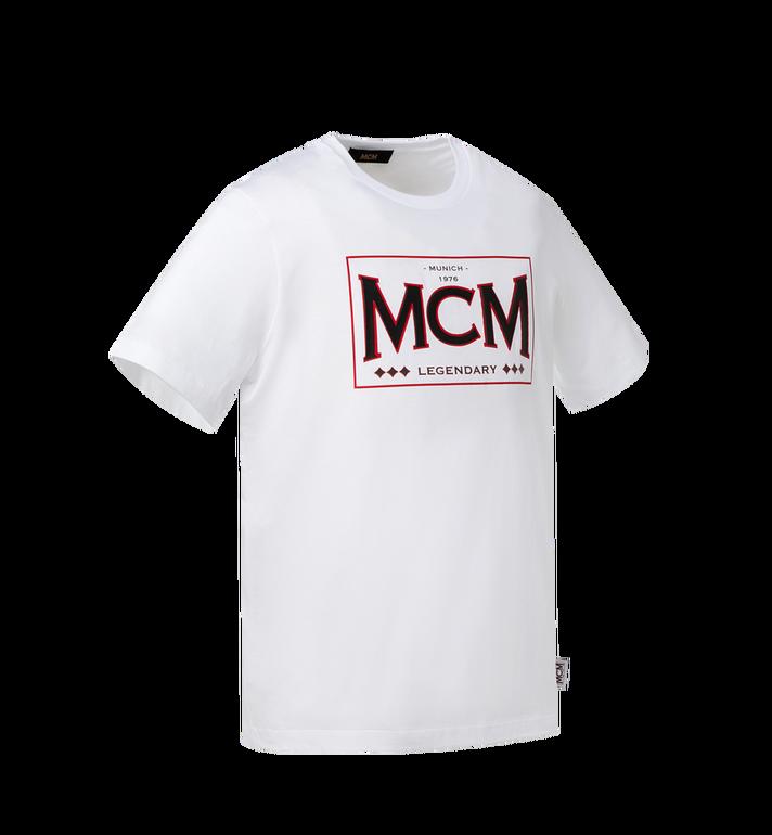 MCM 남성용 MCM 레전더리 티셔츠 White MHT9SNX35WT00M Alternate View 2