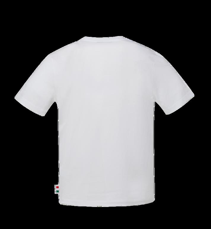 MCM 남성용 MCM 레전더리 티셔츠 White MHT9SNX35WT00M Alternate View 3