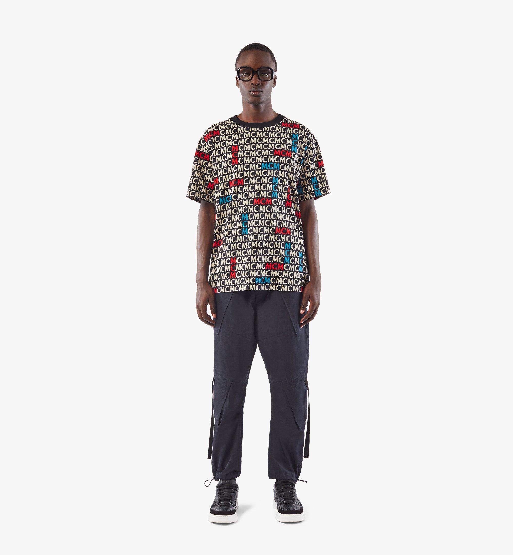 MCM T-Shirt mit Monogramm für Herren Black MHTAAMD01MW00L Noch mehr sehen 2