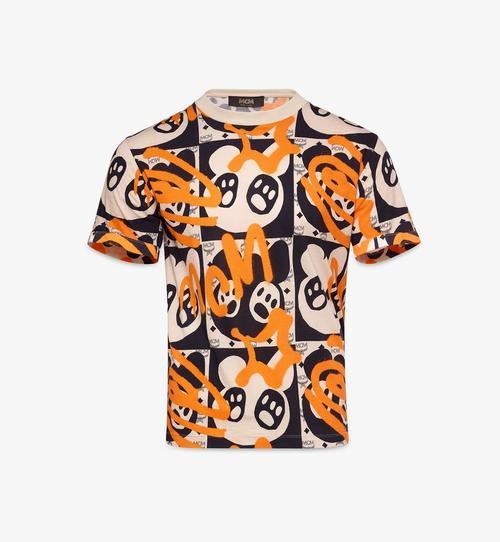 〈MCM 1976〉メンズ ベア アニメーションプリント Tシャツ