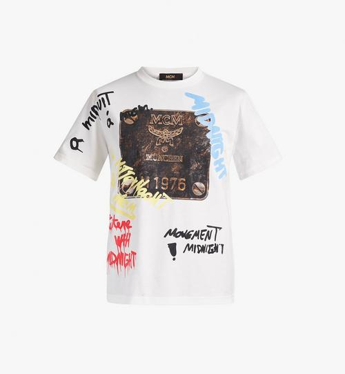 Men's MCM x Midnight Brass Plate T-Shirt