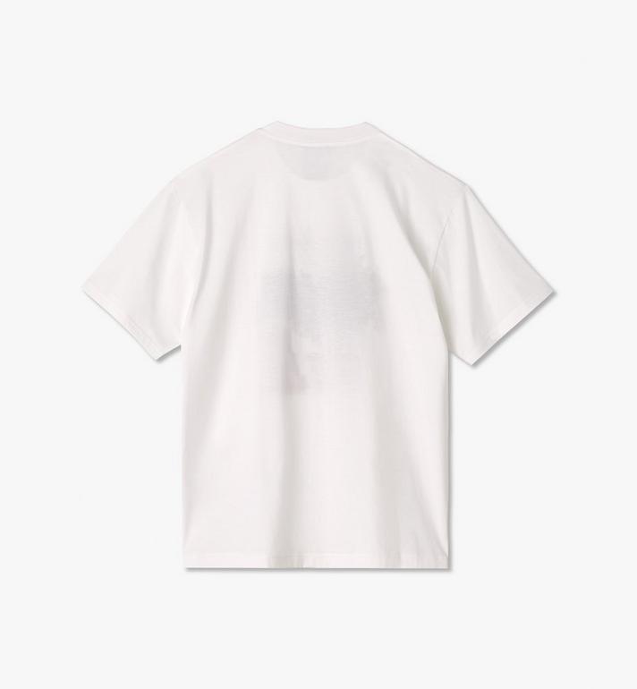 MCM 〈MCM x PHENOMENON〉メンズ プロスパリティ Tシャツ White MHTASJP03WT00L Alternate View 2