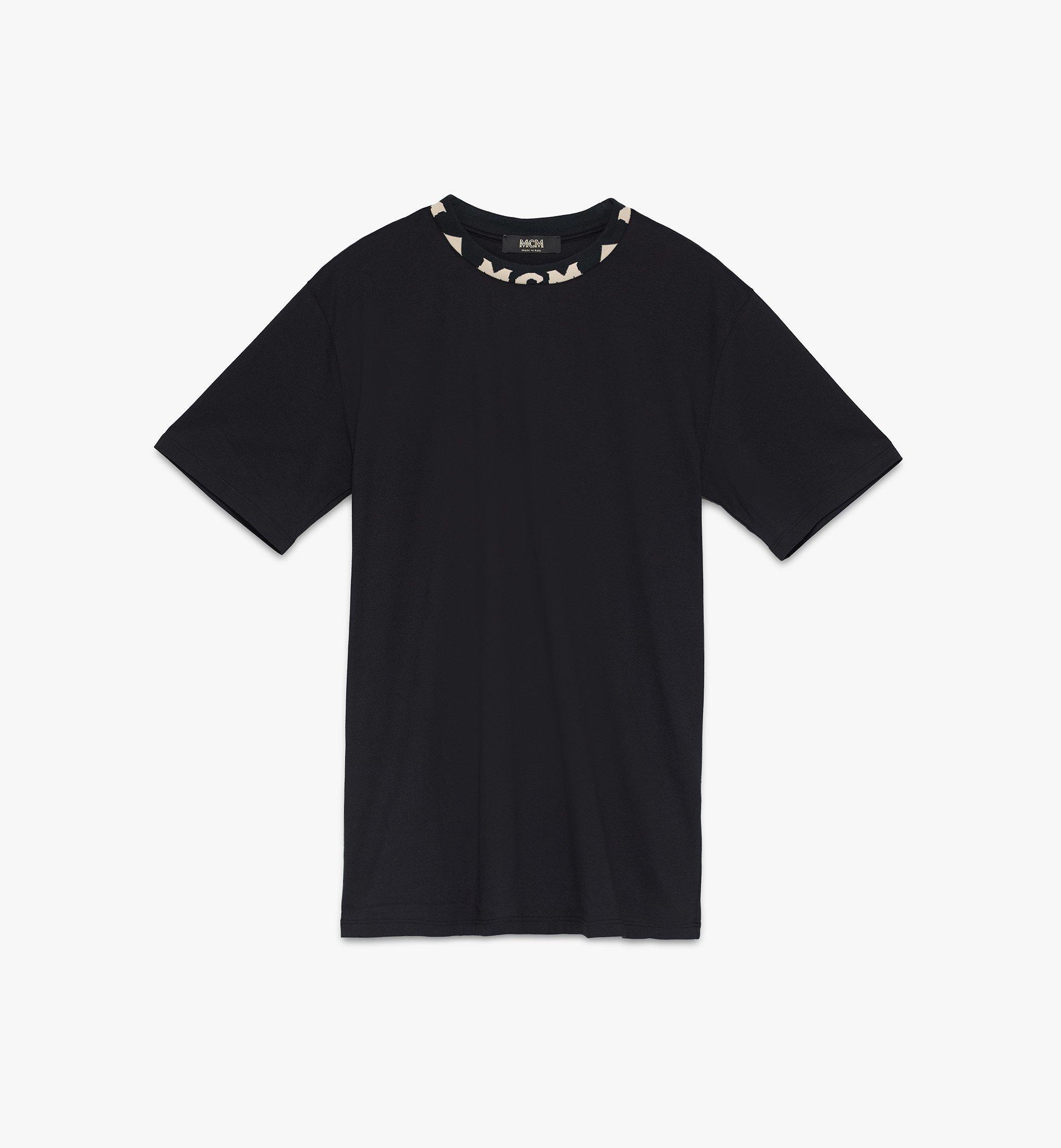 MCM メンズ ロゴトリム Tシャツ Black MHTASMM03BT00L Alternate View 1