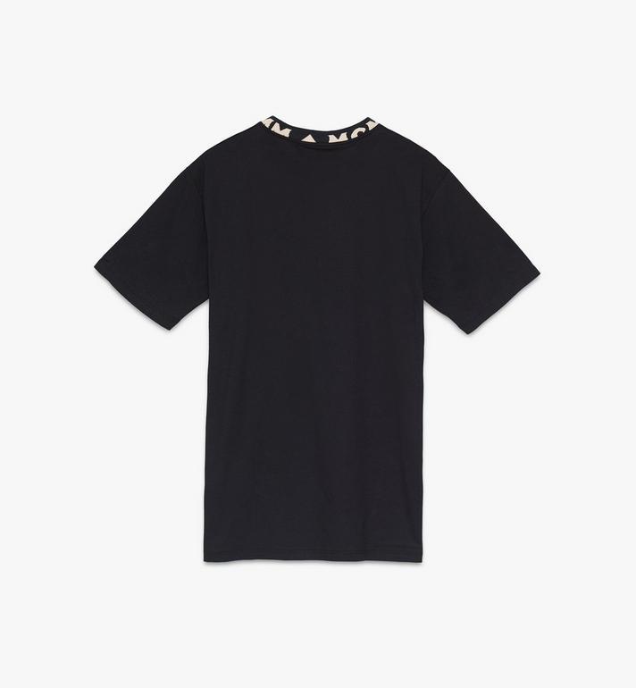 MCM Men's Logo Trim T-Shirt Black MHTASMM03BT00L Alternate View 2