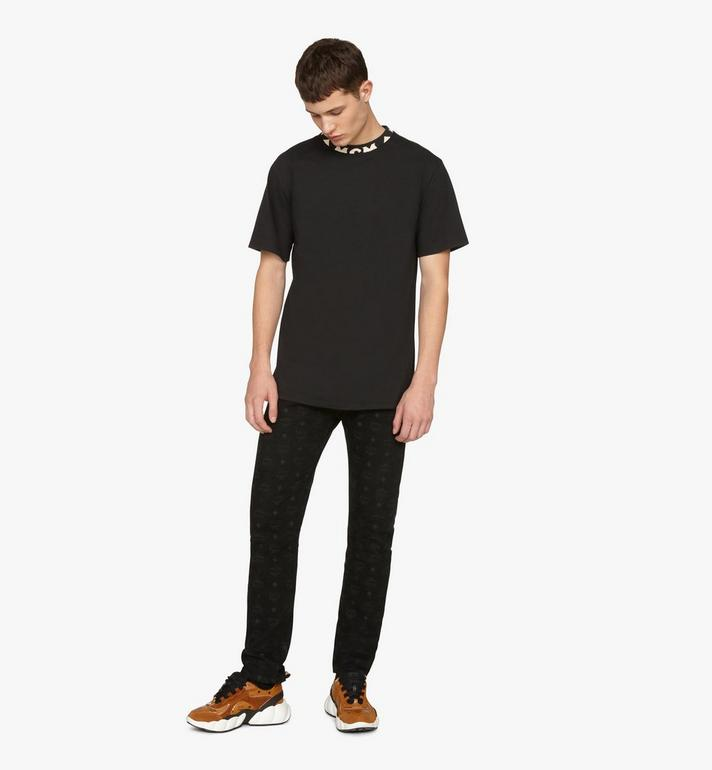 MCM メンズ ロゴトリム Tシャツ Black MHTASMM03BT00L Alternate View 3