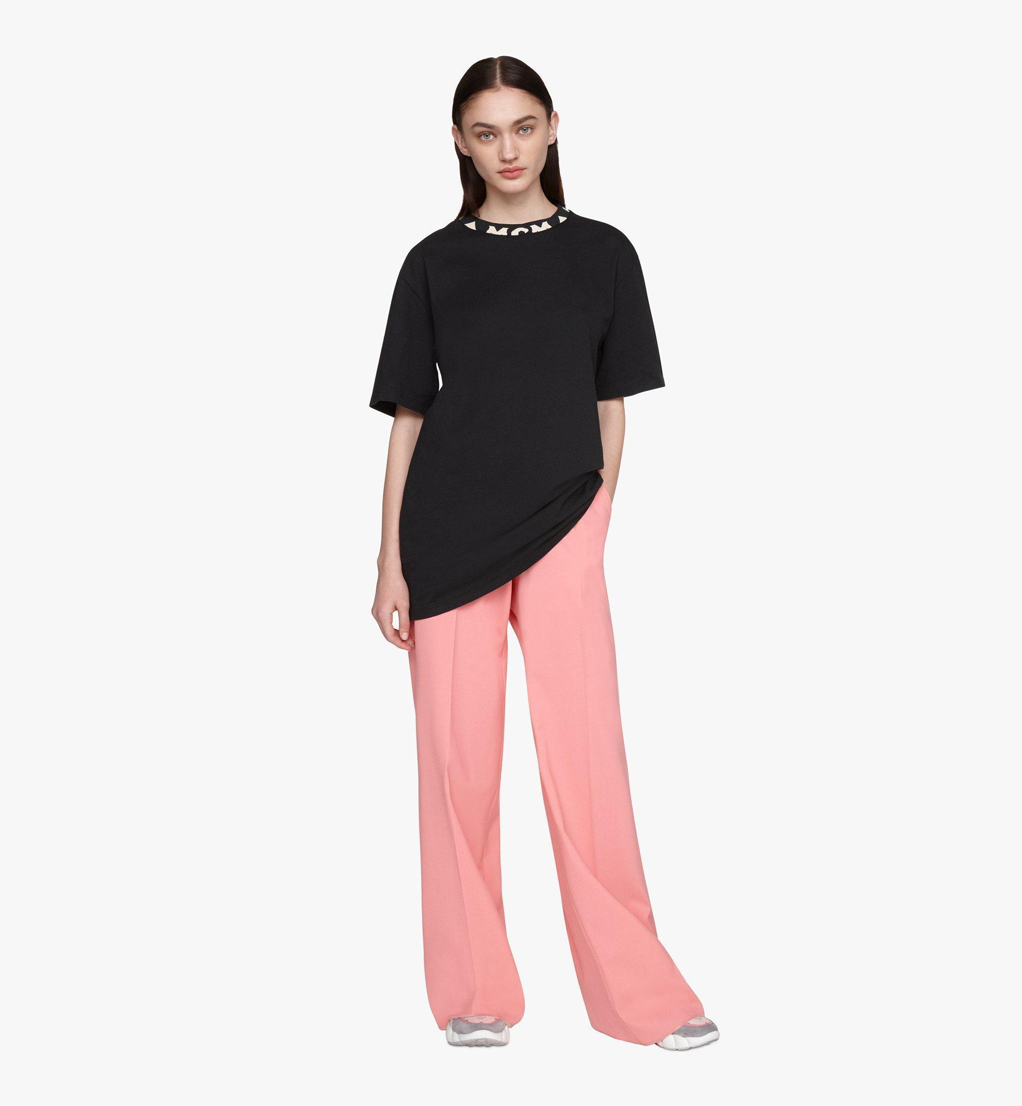 MCM メンズ ロゴトリム Tシャツ Black MHTASMM03BT00L Alternate View 4