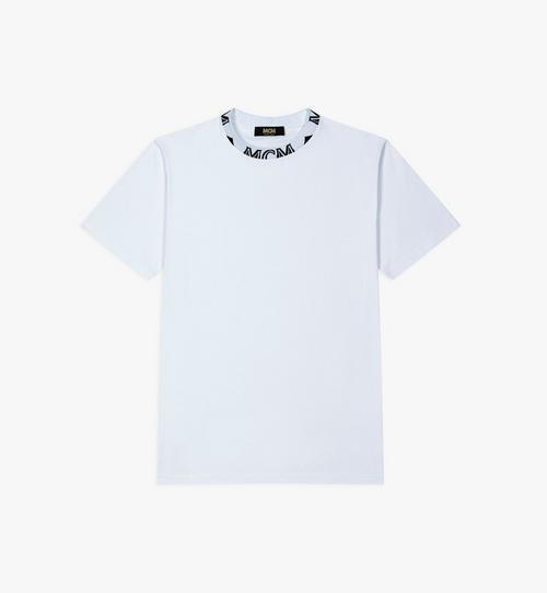 メンズ ロゴトリム Tシャツ