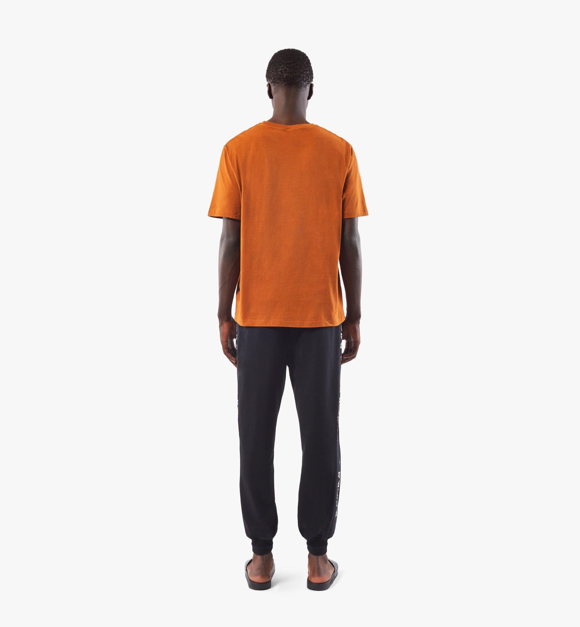 MCM Men's Classic Logo T-Shirt Black MHTASMM04N400M Alternate View 3