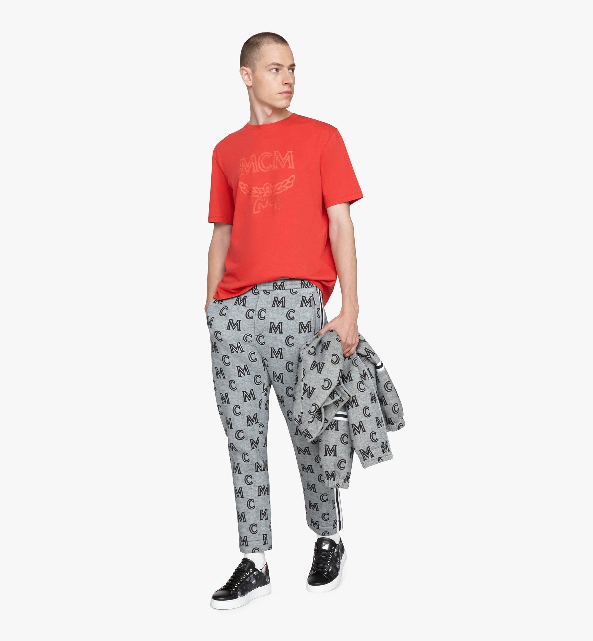 MCM メンズ ロゴ Tシャツ Red MHTASMM04R400L Alternate View 3