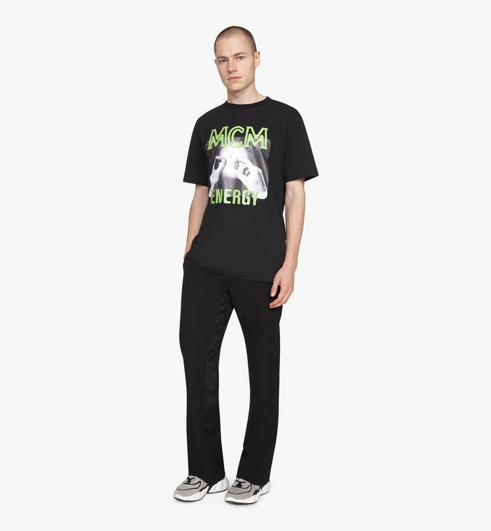 MCM T-shirt 1976 Energy pour homme Black MHTASMV02BT0XL Alternate View 3