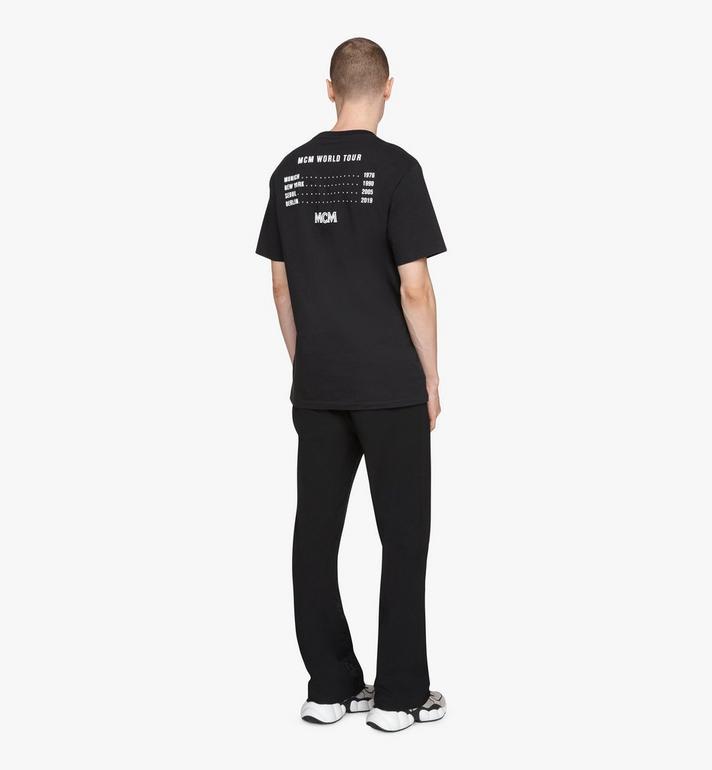 MCM T-shirt 1976 Energy pour homme Black MHTASMV02BT0XL Alternate View 4