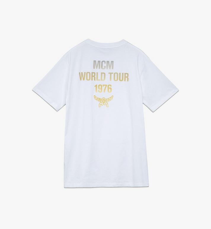 MCM 〈MCM 1976〉メンズ パワートリップ Tシャツ White MHTASMV02WT00L Alternate View 2