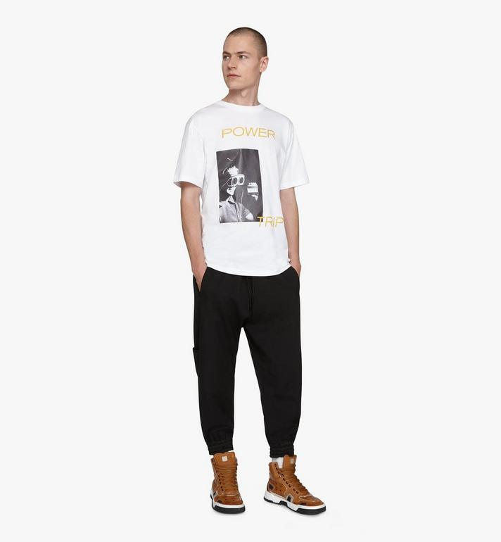 MCM 〈MCM 1976〉メンズ パワートリップ Tシャツ White MHTASMV02WT00L Alternate View 3