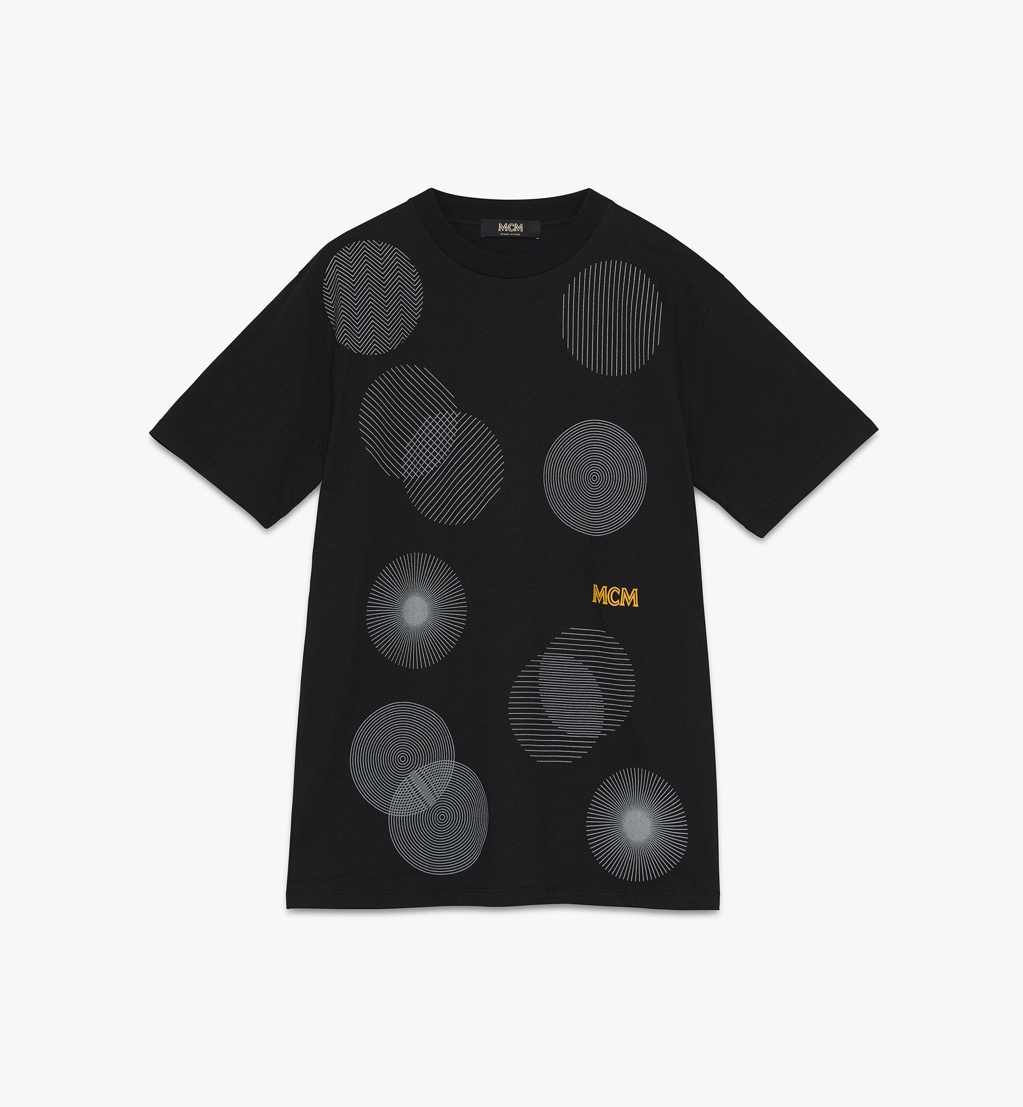 MCM Men's 1976 Dancefloor T-Shirt Black MHTASMV03BK00S Alternate View 1
