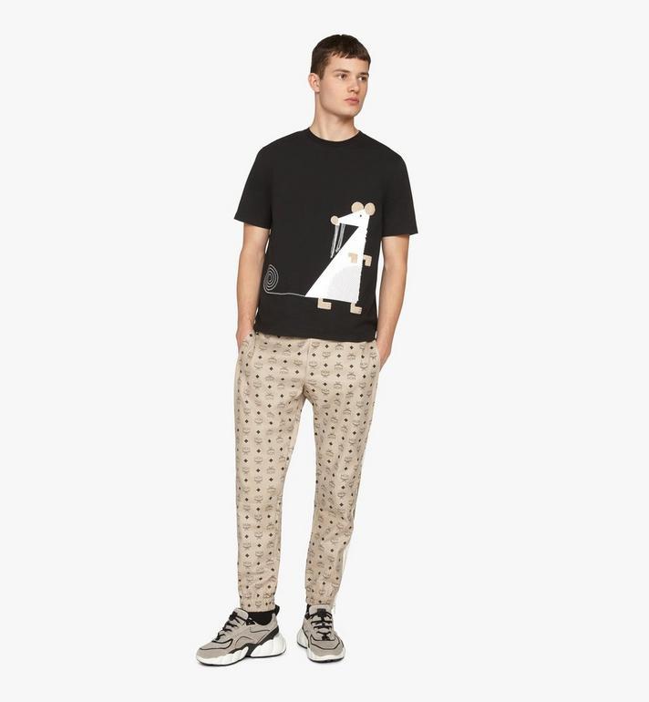 "MCM イヤー・オブ・ザ・ラット"" メンズ Tシャツ Black MHTASSE02BT00L Alternate View 3"