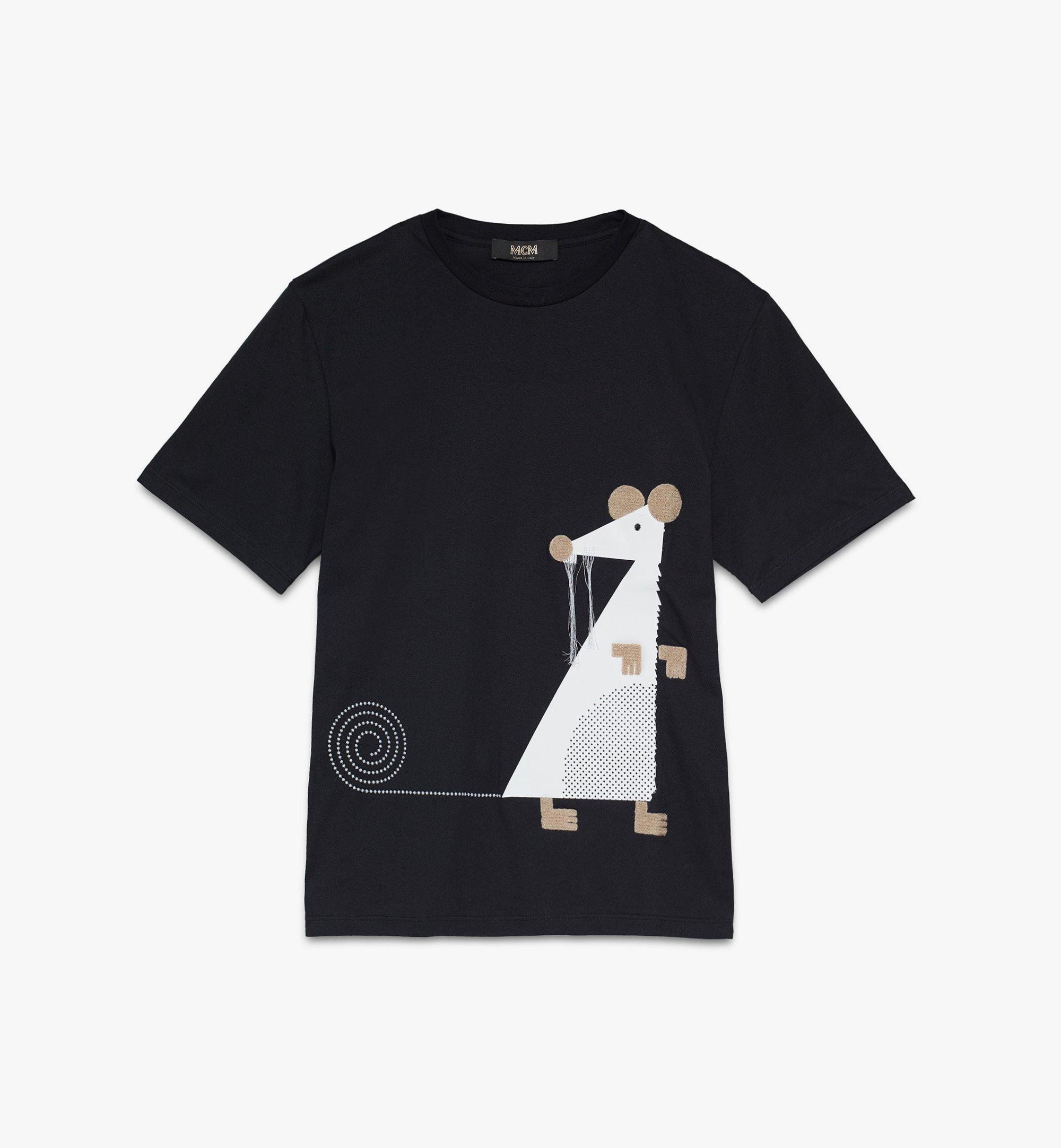 MCM 男士鼠年T恤 Black MHTASSE02BT00M 更多視圖 1